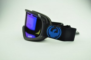 Gogle Dragon D1 JET Dark Smoke Blue + Yell/Red