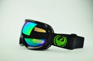 Gogle Dragon D3 JET Green Ion + Yell/Blue